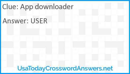 App downloader Answer