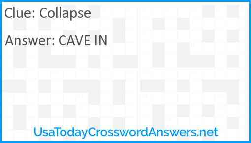 Collapse Answer
