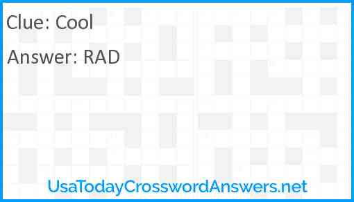 Cool! Answer