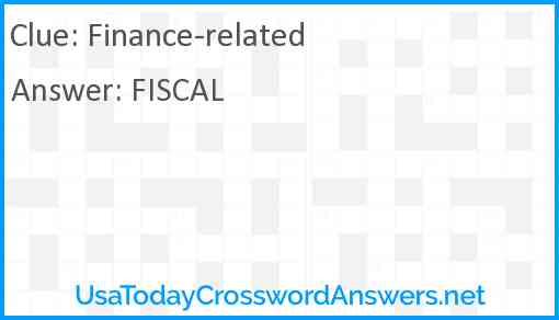 Finance-related Answer