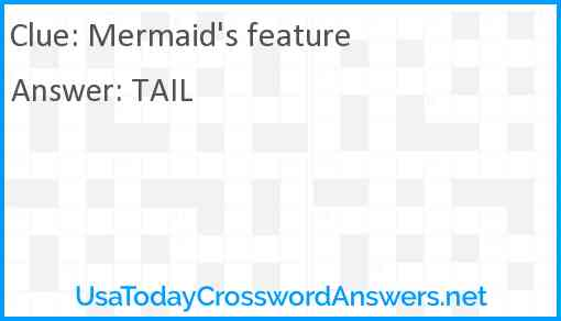 Mermaid's feature Answer