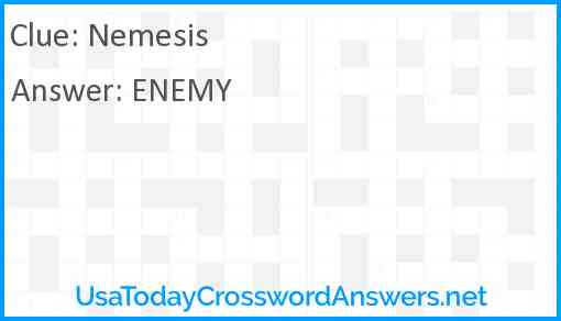 Nemesis Answer
