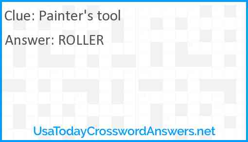 Painter's tool Answer