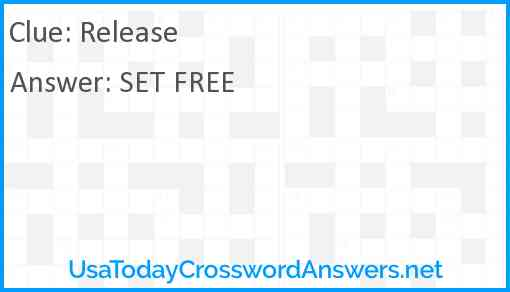 Release Answer
