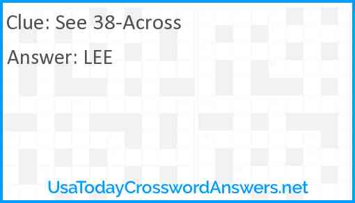 See 38-Across Answer