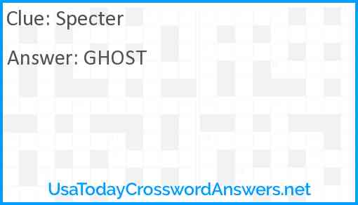 Specter Answer