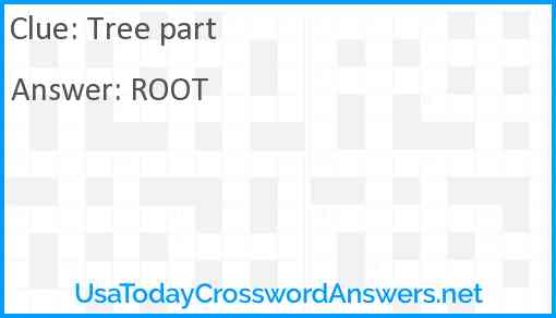 Tree part Answer